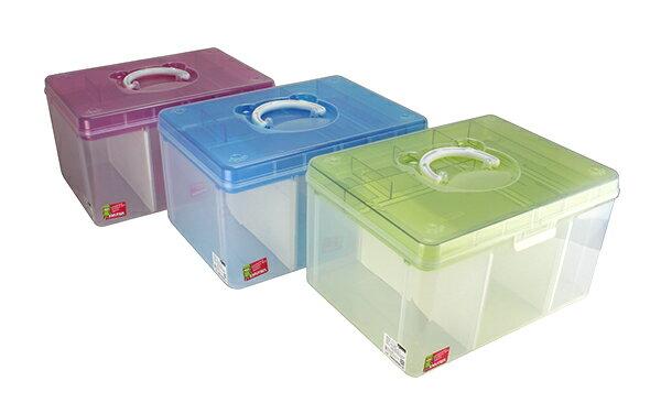 SHUTER 樹德 TB-708 FUN貝兒手提箱 置物箱 手提整理盒 零件盒 收納箱 儲物盒 工具箱 小物盒 台灣製造