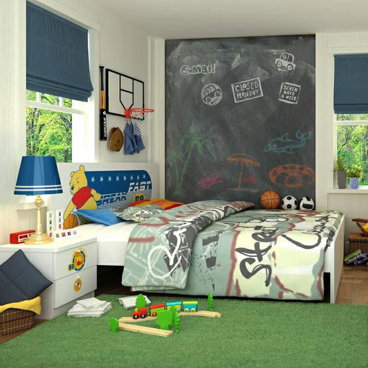 [首雅傢俬] 維尼 大 灌籃 雙人 床架 *特價* 迪士尼 兒童床