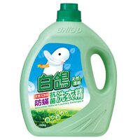 白鴿天然尤加利防蹣抗菌洗衣精3500g【愛買】 0
