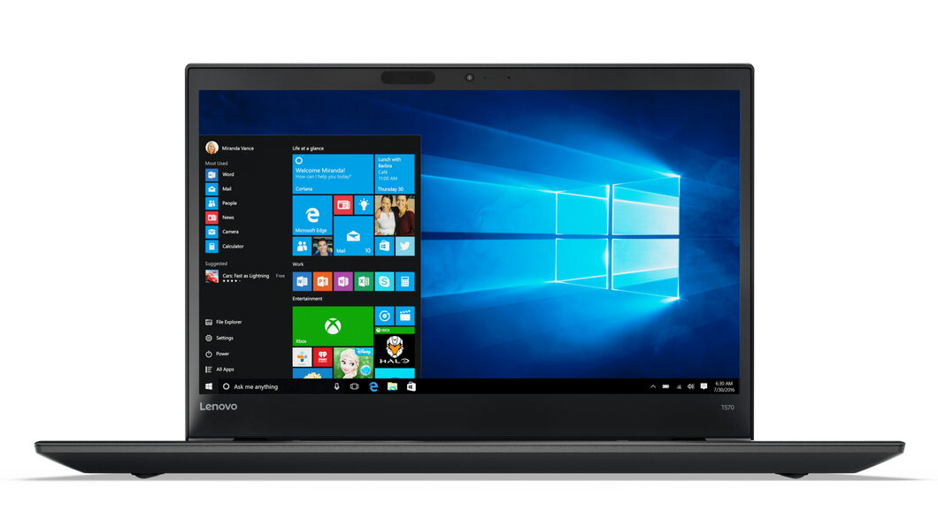 "Lenovo ThinkPad T570 15.6"" FHD Laptop (Core i7-6600U / 8GB / 256GB SSD)"
