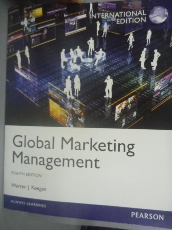 ~書寶 書T8/大學商學_ZGO~Global Marketing Management8