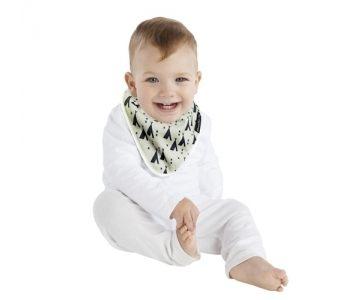 MUM 2 MUM 雙面竹纖維棉機能口水巾圍兜印地安帳篷/X號 ZMU363352 好娃娃