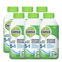Dettol 洗衣機 抗菌 清潔劑 Washing Machine Cleaner 英國進口 6瓶組合