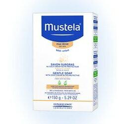 【淘氣寶寶】【Mustela系列滿399,即隨機加贈Mustela系列超值試用體驗】法國 慕之恬廊 Mustela 冷霜滋養皂【150g】