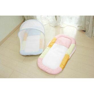 ★衛立兒生活館★GMP BABY 新寶寶厚蚊帳睡墊(藍色/粉色)