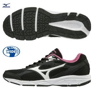 K1GA180102(黑X白)一般型鞋款 寬楦 MIZUNO MAXIMIZER 20 女慢跑鞋 S【美津濃MIZUNO】【樂天會員限定   03/01-03/31單筆滿2000元結帳輸入序號『Mar..