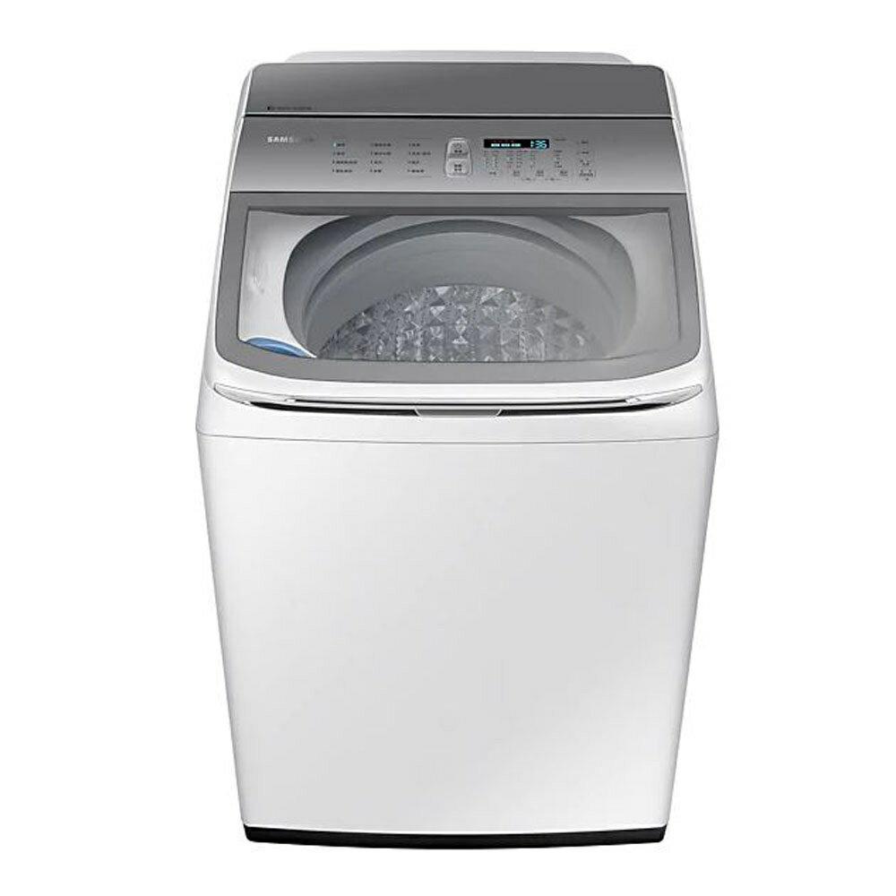 【領券95折無上限】110/5/30前回函抽吸塵器 Samsung 三星 智慧觸控 18KG 直立洗衣機 WA18R8100GW