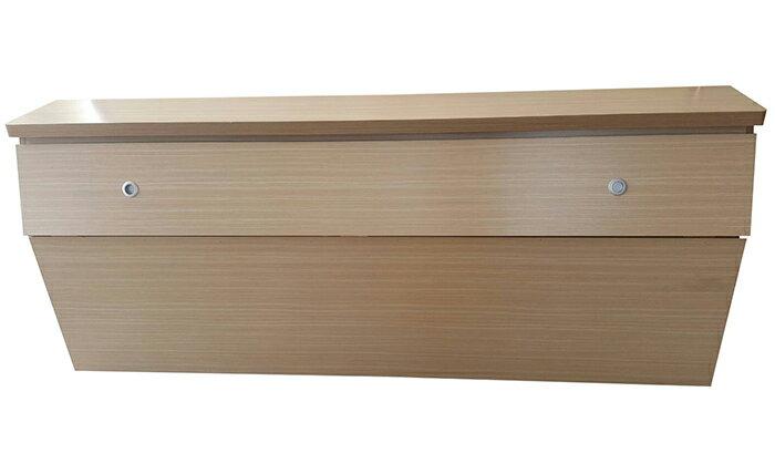 【尚品傢俱】624-04 胡桃全木心板5尺床頭箱~耐磨皮紋,四色可選《台中市部分免運》