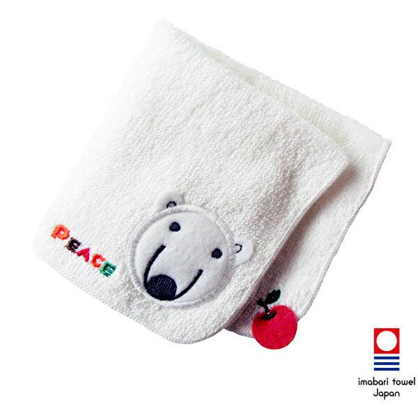 日本今治毛巾(imabari towel) - 四國動物園Tobezoo - 北極熊Ms.Peace日本方巾《日本設計製造》《全館免運費》
