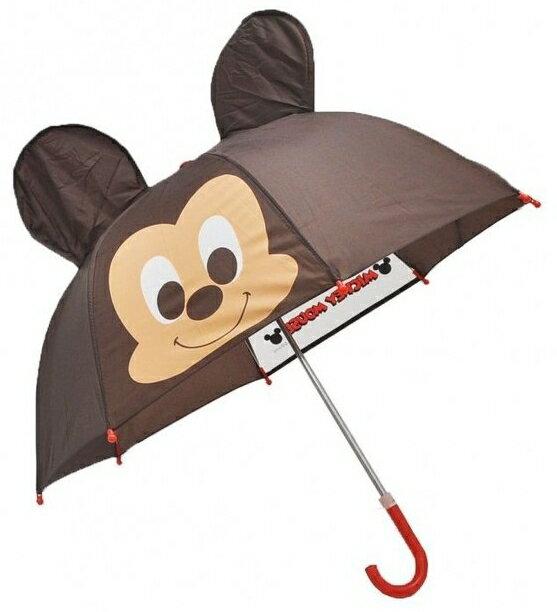 Disney 迪士尼 兒童傘/3D造型傘/手開直傘 米奇 *夏日微風*