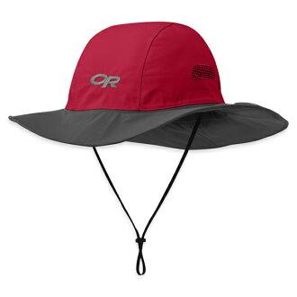【鄉野情戶外專業】 Outdoor Research  美國  Seattle Sombrero GTX 防水圓盤帽/Gore-Tex 登山帽 健行帽 防曬帽 遮陽帽-紅木灰/82130,243505
