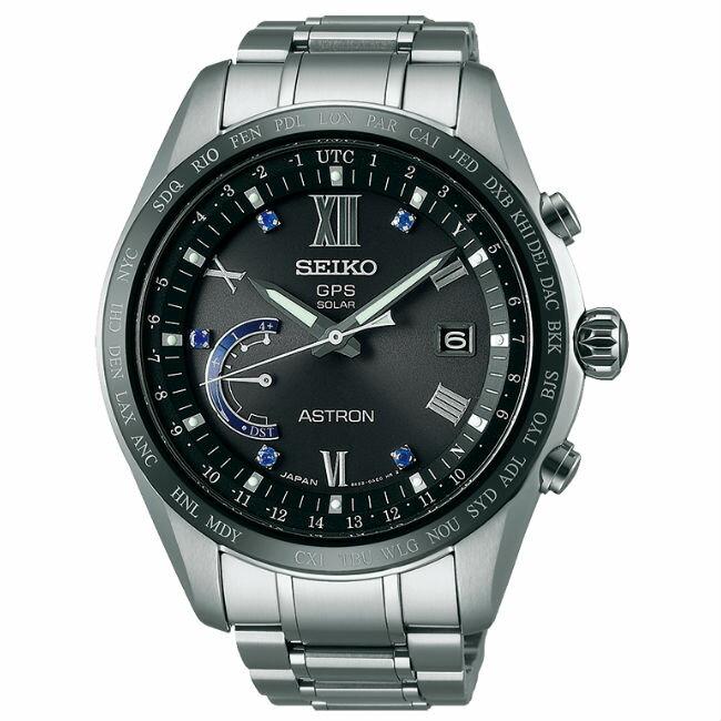 Seiko 精工錶 Astron 8X22-0AH0D(SSE117J1)太陽能GPS對時鈦金屬腕錶/藍面44.8mm