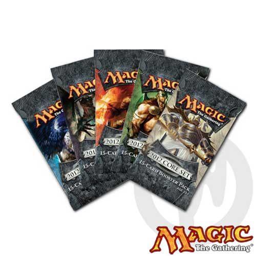 【Playwoods】[MTG魔法風雲會]M12 Core-2012核心系列:英文版-單包 補充包(卡片遊戲-萬智牌)