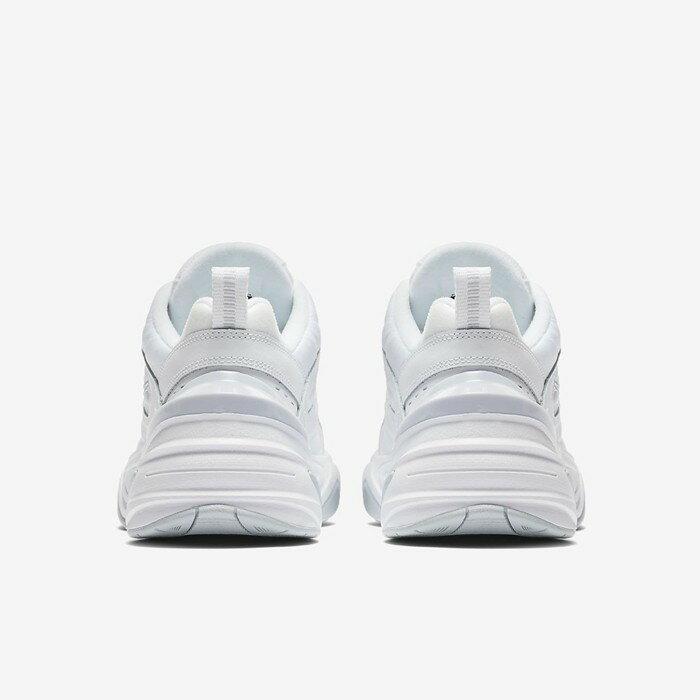 【日本海外代購】Nike Monarch M2K Tekno 復古 老爹鞋 白色 白灰 厚底 增高 男女鞋 AO3108-100