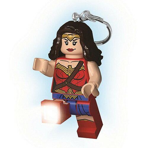 【LEGO樂高積木】LED燈鑰匙圈-神力女超人(新版)
