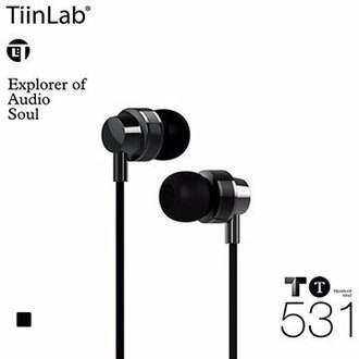 TiinLab TBass of TFAT TT 低音 系列 TT531 周杰倫 調音 入耳式 耳機 鎳鐵黑