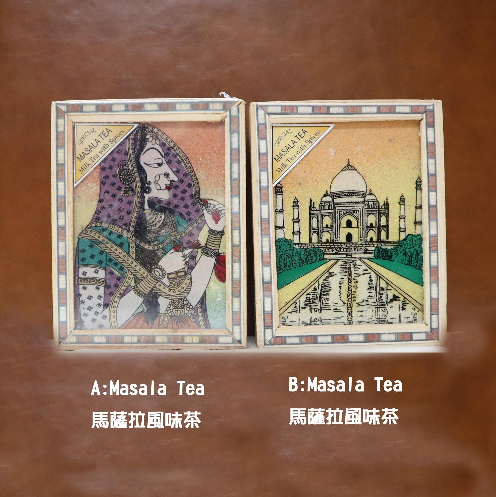 獨特☀尼泊爾沙畫木盒☀檸檬茶 高山茶 有機紅茶 Tulsi Tea 薑茶 馬薩拉奶茶 伊姆拉紅茶 瑜珈茶 3