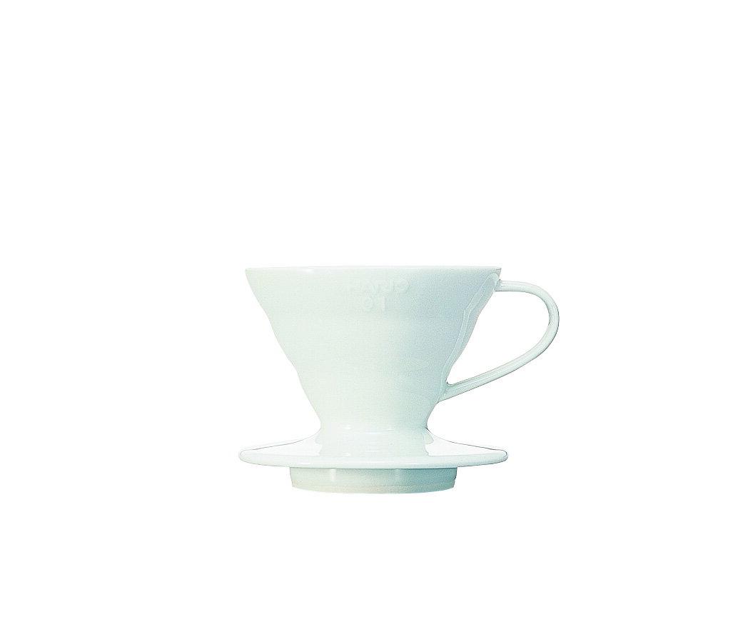 [微聲咖啡] Hario 陶瓷圓錐濾杯 VDC-01W 1~2 杯用
