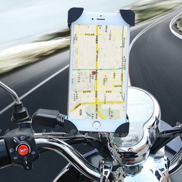 後視鏡手機支架 360度摩托車手機支撐架 鷹爪機車導航支架GPS 行車紀錄器支撐座【GG440】◎123便利屋◎