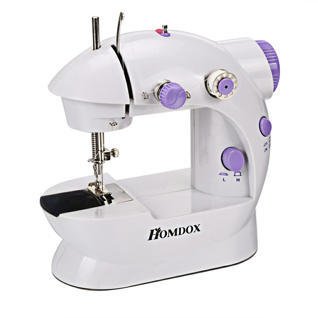Mini Portable Sew 2-Speed Sewing Machine + 4 Bobbins 0