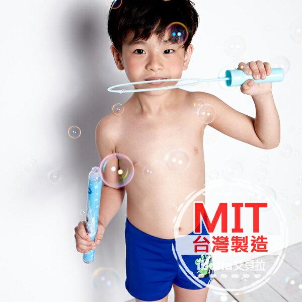 小男童泳褲 MIT台灣製造汽車塗鴉印花二分泳褲【36-66-85903】ibella 艾貝拉