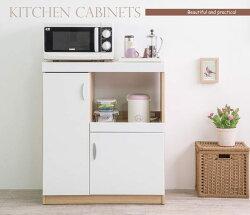 櫥櫃收納/櫥櫃/廚房 TZUMii雅典娜雙門五格收納廚房櫃-亮麗白