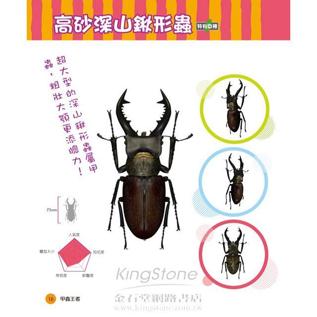 甲蟲王者:50隻最強、最美的台灣獨角仙、鍬形蟲圖鑑 7