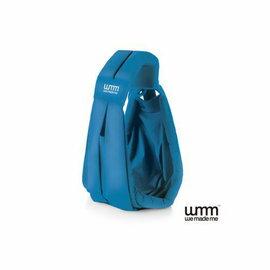 【淘氣寶寶】英國WMMSoohu五式親密揹巾揹帶背巾-輕盈款(土耳其藍)