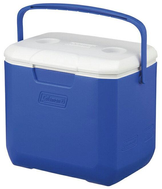 【鄉野情戶外專業】 Coleman |美國| 28L Excursion 手提冰箱/冰桶 保鮮桶 保冰箱-藍/CM-27861M000