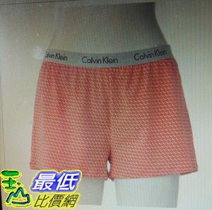 [COSCO代購 如果沒搶到鄭重道歉] Calvin Klein 女舒適家居短褲 W1032297