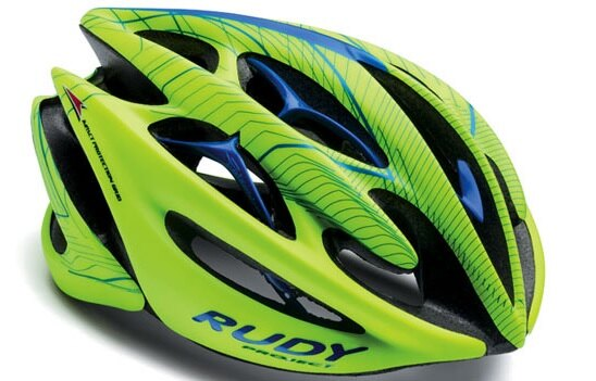 【7號公園自行車】RUDY PROJECT STERLING 安全帽(綠藍)