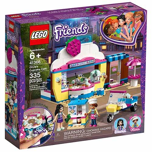 樂高LEGO 41366 Friends 姊妹淘系列 - 奧麗薇亞的杯子蛋糕屋 - 限時優惠好康折扣