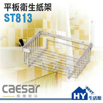 凱撒精品衛浴 ST813 平板衛生紙架 [區域限制]《HY生活館》水電材料專賣店