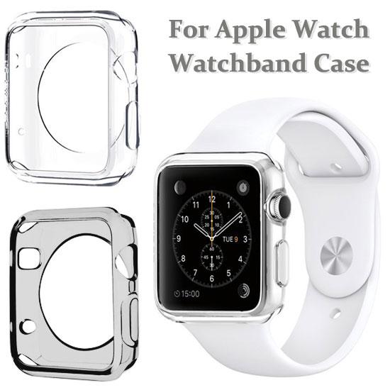 【智慧手錶透明套】Apple Watch 38mm/42mm 透明保護殼/iWatch軟殼/清水套/TPU 透明保護套
