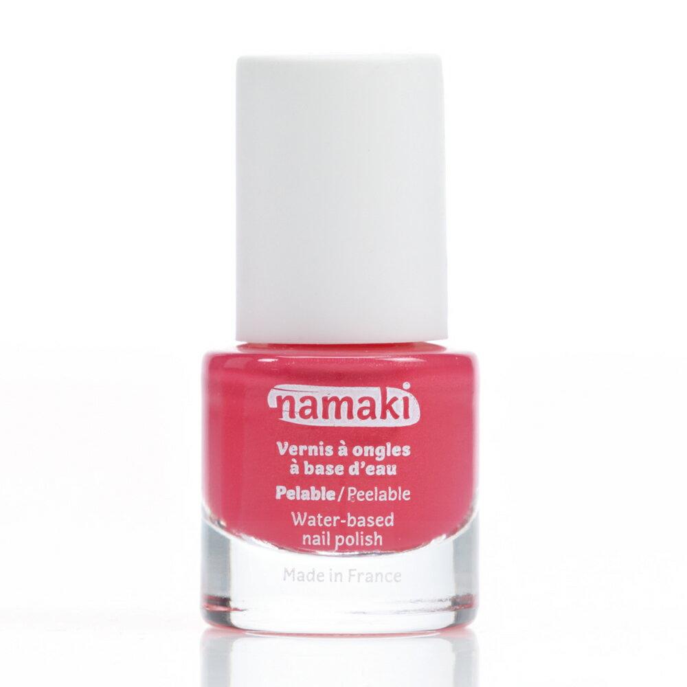法國 namaki  幼兒專用可撕式水性指甲油 - 珊瑚紅