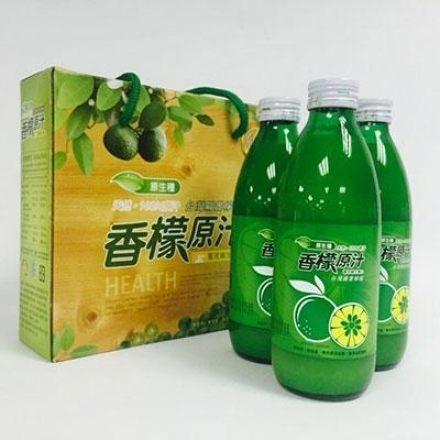 台灣原生種香檬原汁 300ml [橘子藥美麗]