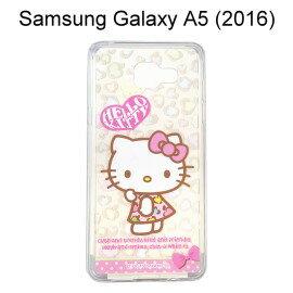 Hello Kitty 透明軟殼 ^~豹紋^~ Samsung A510Y Galaxy