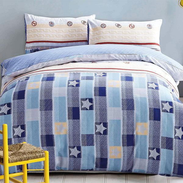 Picasso 大聯盟 雙人六件式 舖棉兩用被床罩組/ 哇哇購