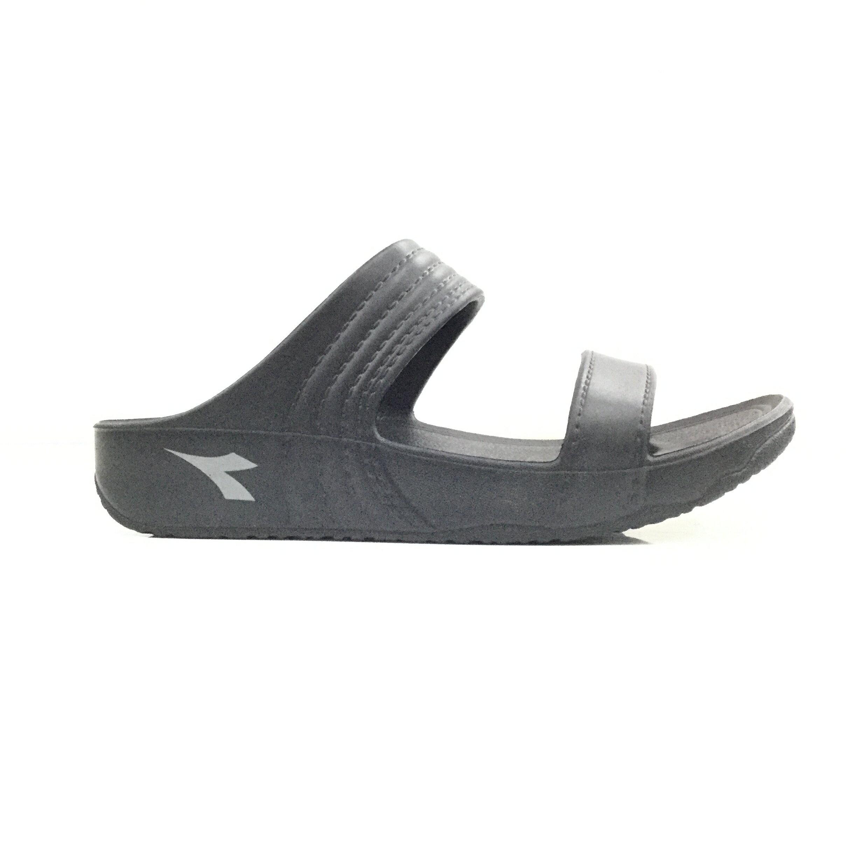 ~555鞋~Diadora 黑色 海灘拖 防水 拖鞋 一體成形 彈力升級 休閒拖鞋 MIT