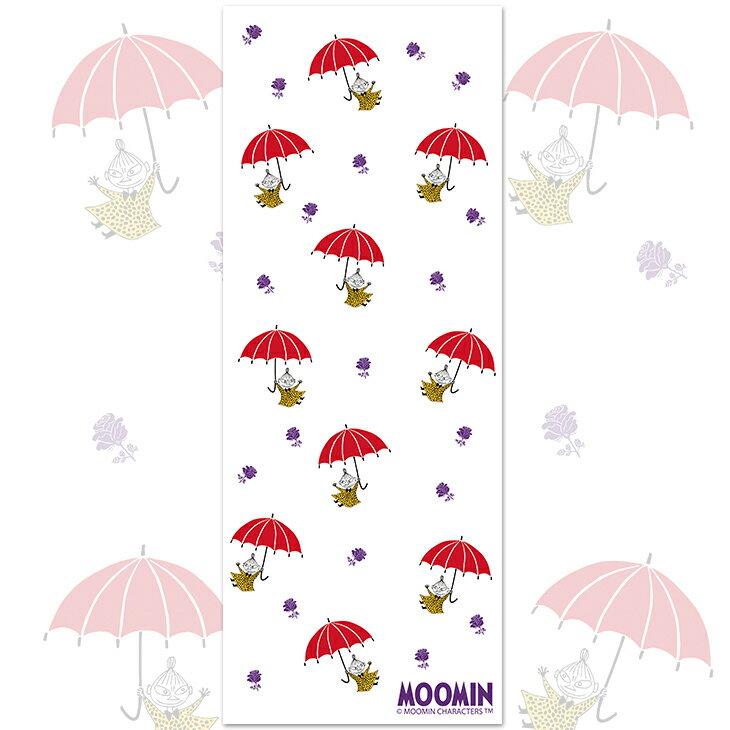 Moomin嚕嚕米正版授權 - 柔棉/厚棉 紗布毛巾 :【小紅傘】