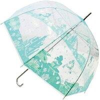 直立雨傘推薦到大賀屋 日貨 小美人魚 透明 長傘 雨傘 透明傘 傘 綠 剪影 防滲透 迪士尼 愛麗兒 美人魚 公主 J00012496就在大賀屋推薦直立雨傘