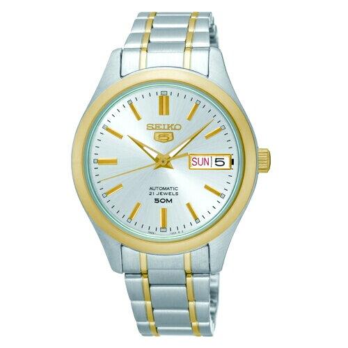 SEIKO精工5號自動上鏈機械女腕錶金SNK880J1(7S26-04K0K)
