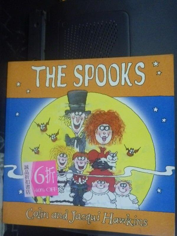 【書寶二手書T7/少年童書_ZBO】The Spooks_Colin Hawkins