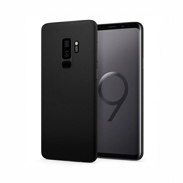 【Spigen】GalaxyS9+AirSkin極致輕薄保護殼(黑)