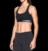 《UA出清一件699》Shoestw【1276503-001】UNDER ARMOUR UA服飾 Crossback 運動內衣 緊身 強力彈性型 中強度 黑色 女生 0