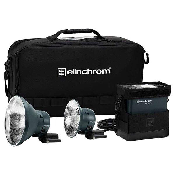 ◎相機專家◎預購ElinchromELB500TTLToGo外拍電筒雙燈套組EL10310.1公司貨