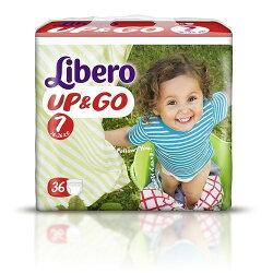 麗貝樂 Libero 褲型紙尿褲(拉拉褲)XXL 7號-36片x6包 3594元