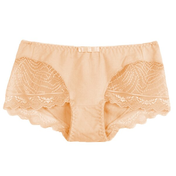 【夢蒂兒】夢幻水漾集中系列平口褲(嫩膚) 1