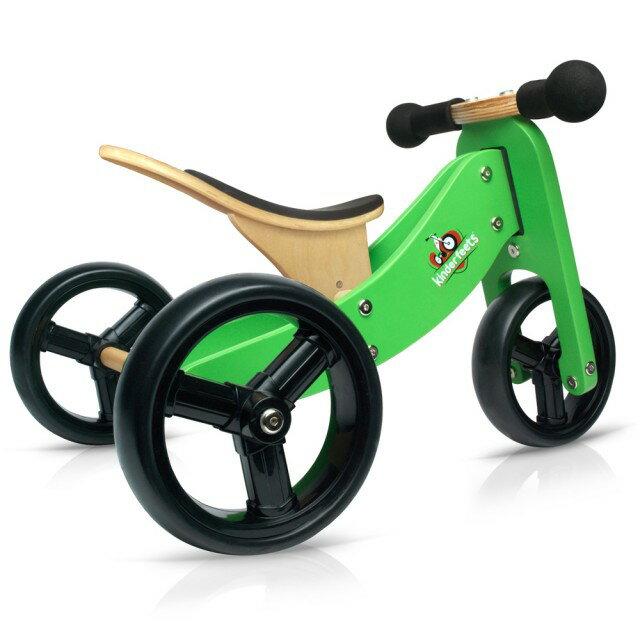 美國【Kinderfeets】木製平衡滑步車/教具車-初心者三輪系列(4色) 4
