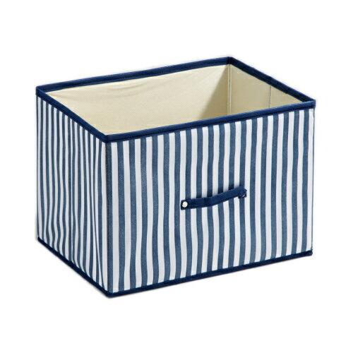 藍色條紋橫式抽屜【愛買】